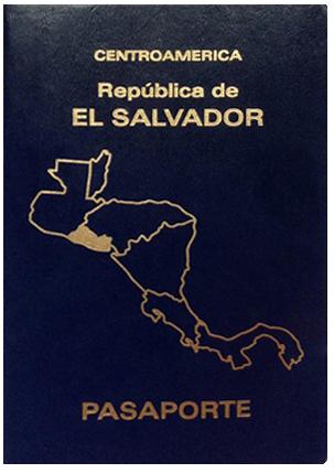 エルサルバドルのパスポート