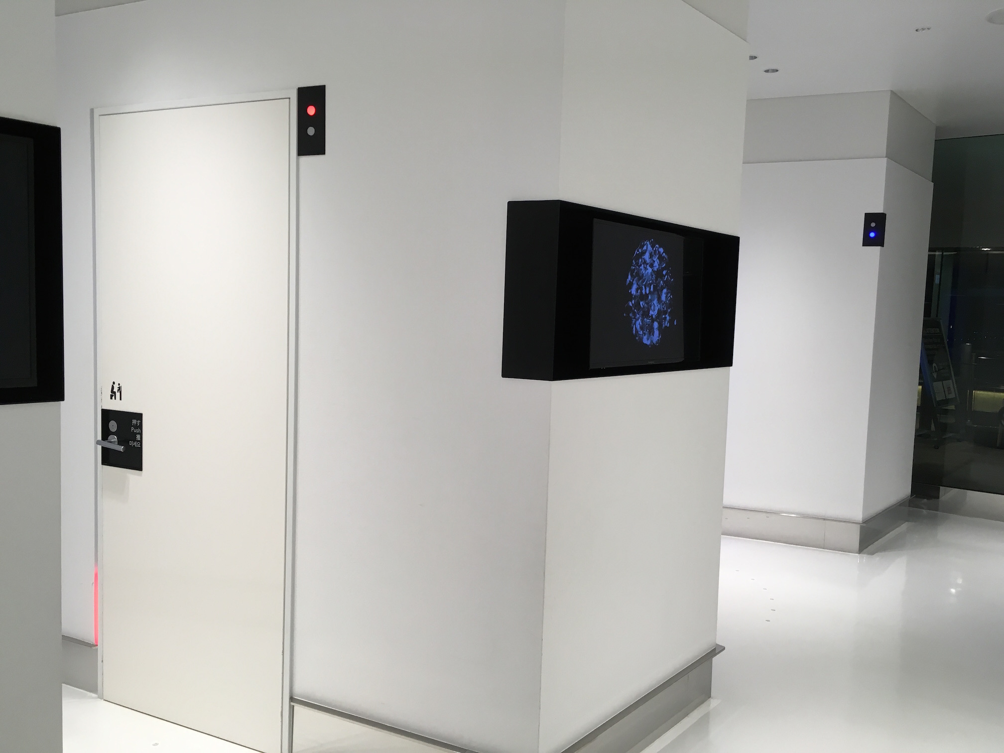 成田空港第2ターミナルのトイレ