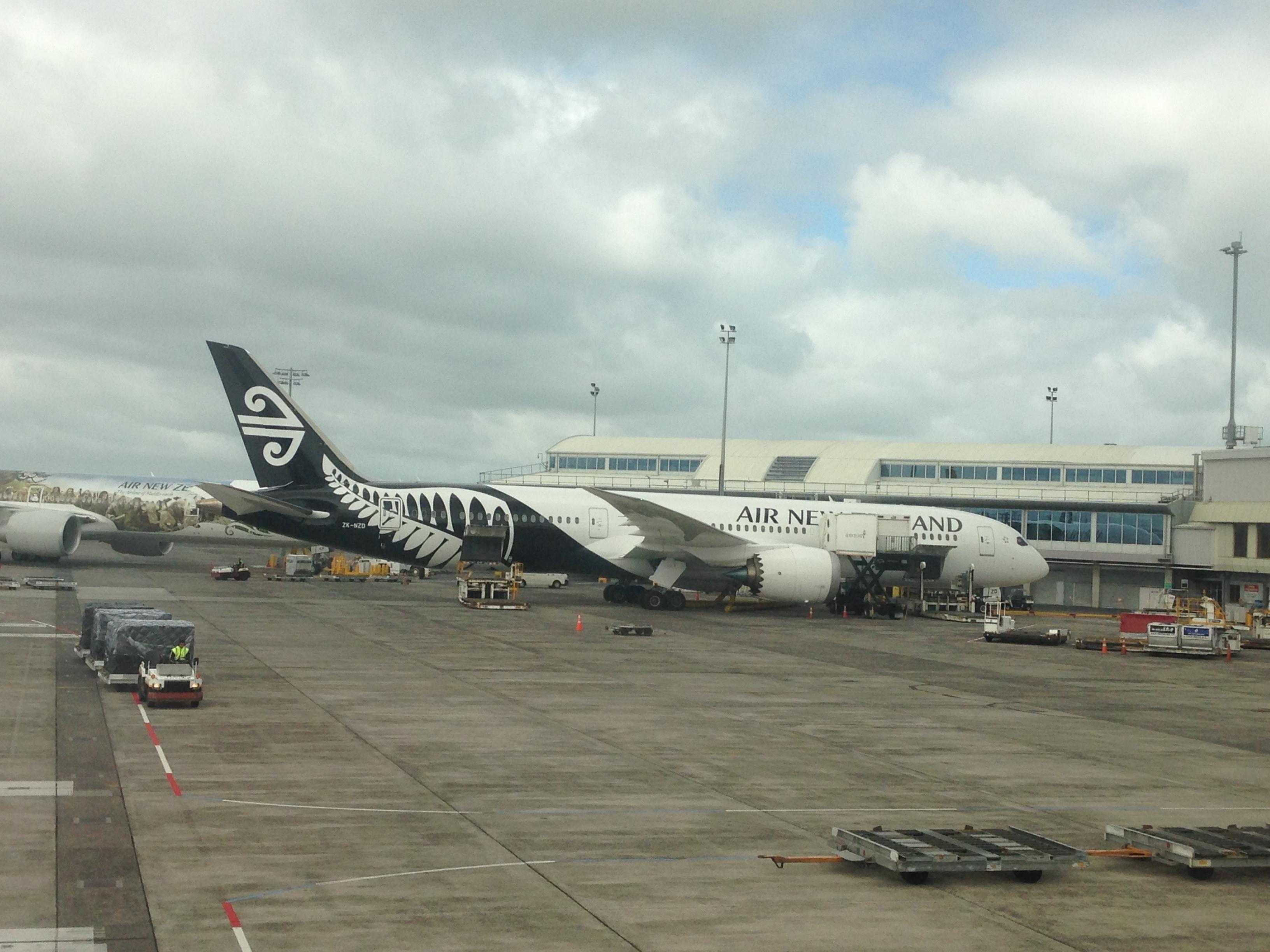 ニュージーランド航空プレミアムエコノミー