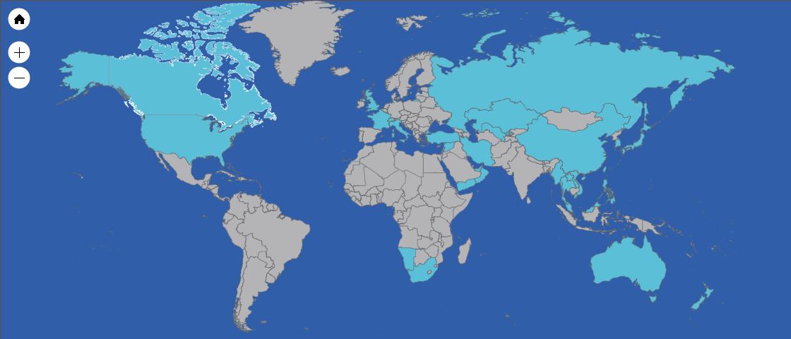 世界地図の中で訪問国を見える化できる便利なサイトがありました