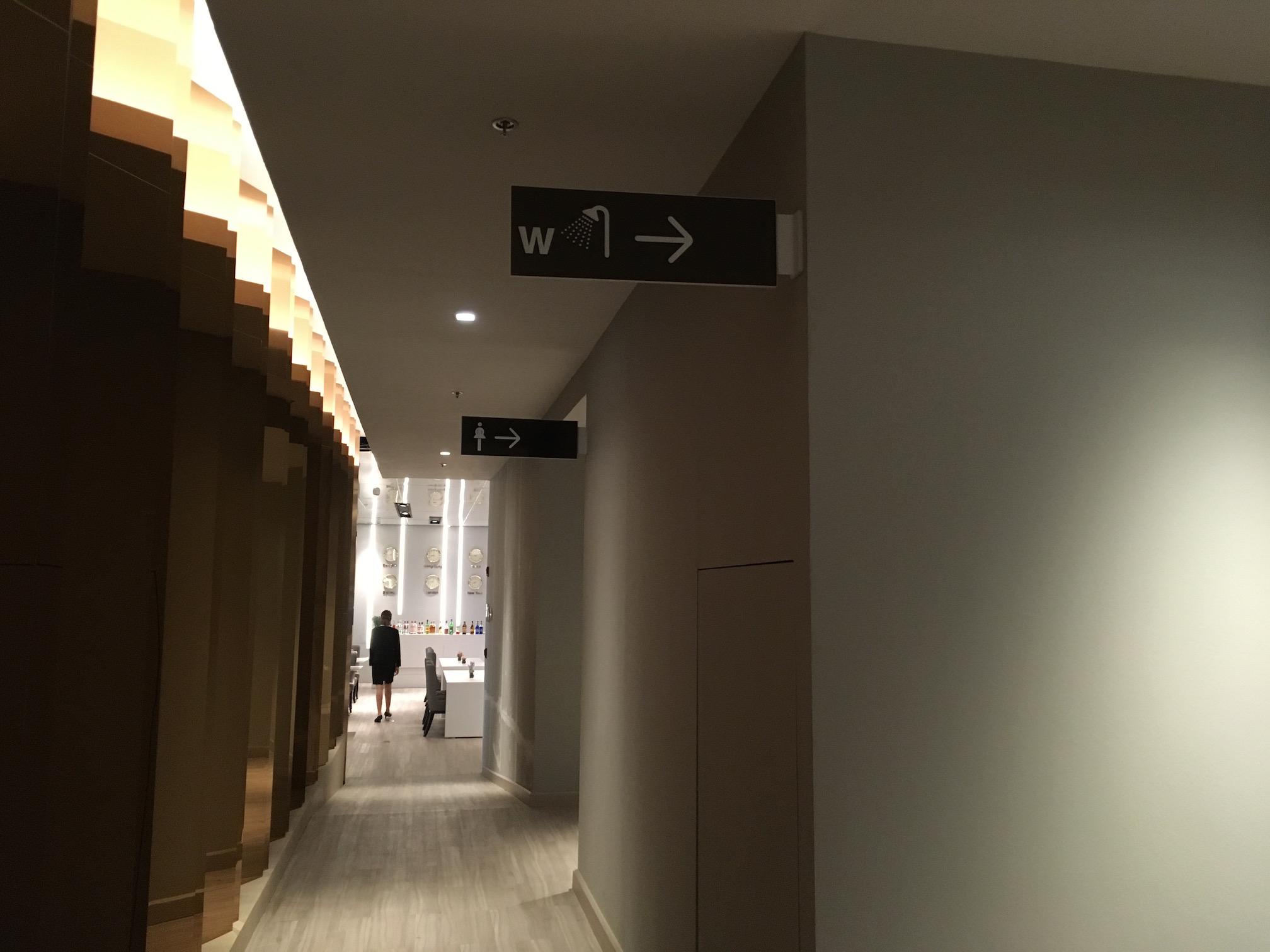 スワンナプーム空港のラウンジ